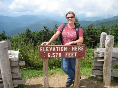 Highest Elevation in North Carolina - Mt Michell