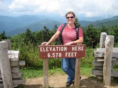 Highest Elevation in North Carolina - Mt Michell
