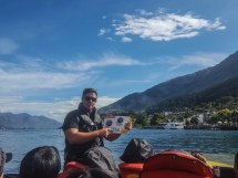 Our jetboat driver, Nick
